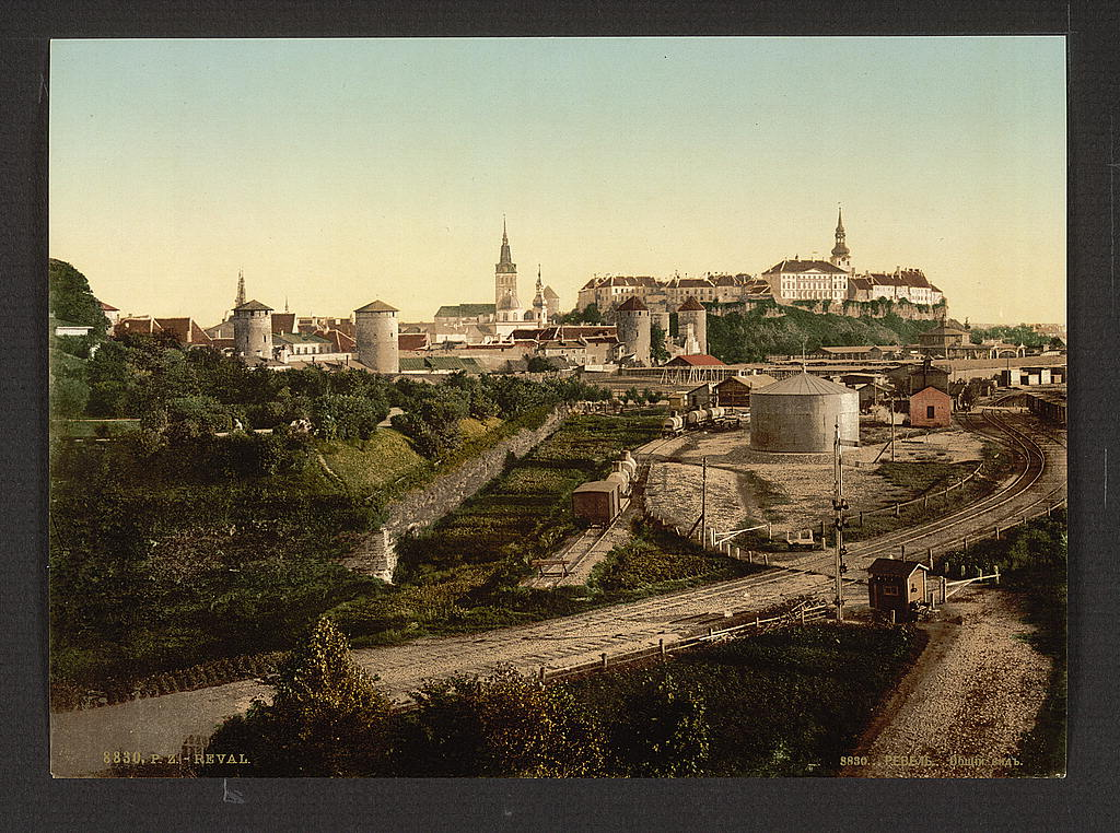 Ревель (Таллин). Общий вид