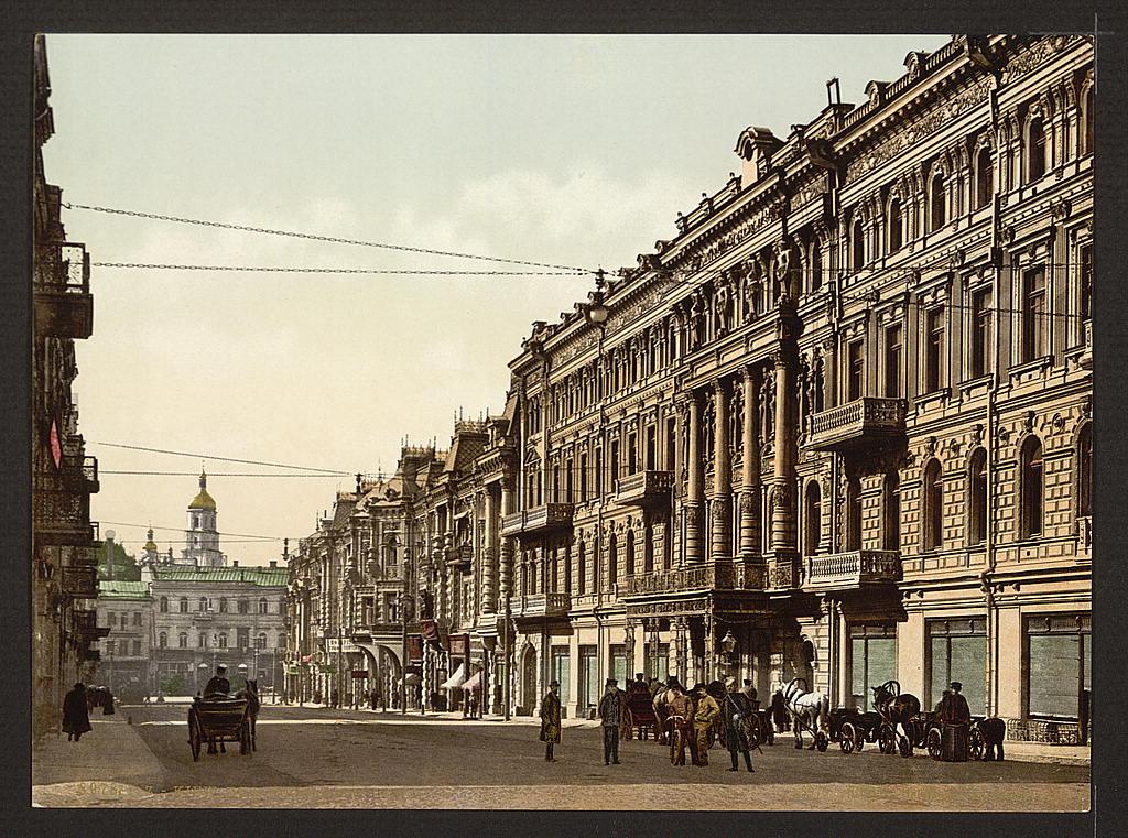 Николаевская улица (ныне Городецкого)