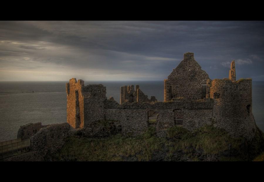 Dunluce замок