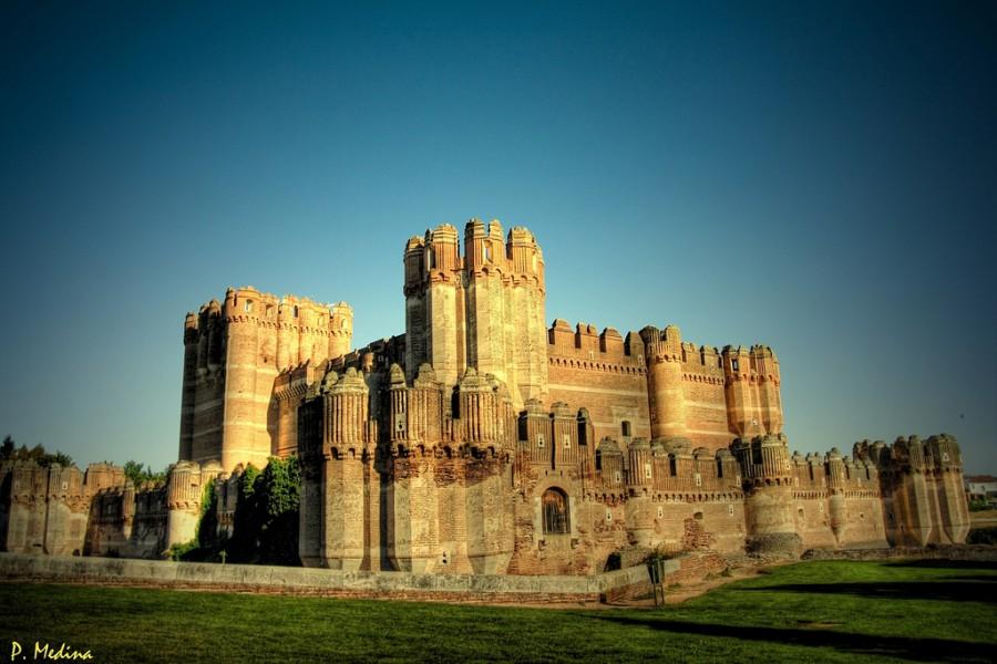 замок Кока, Сеговия, Испания