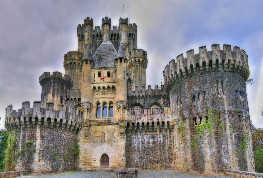 Butrn замок, Испания