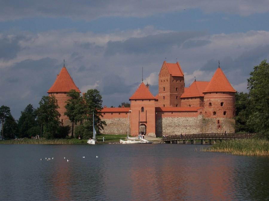 Тракайский замок, Литва.
