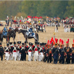 Реконструкция исторической битвы почти Лейпцигом