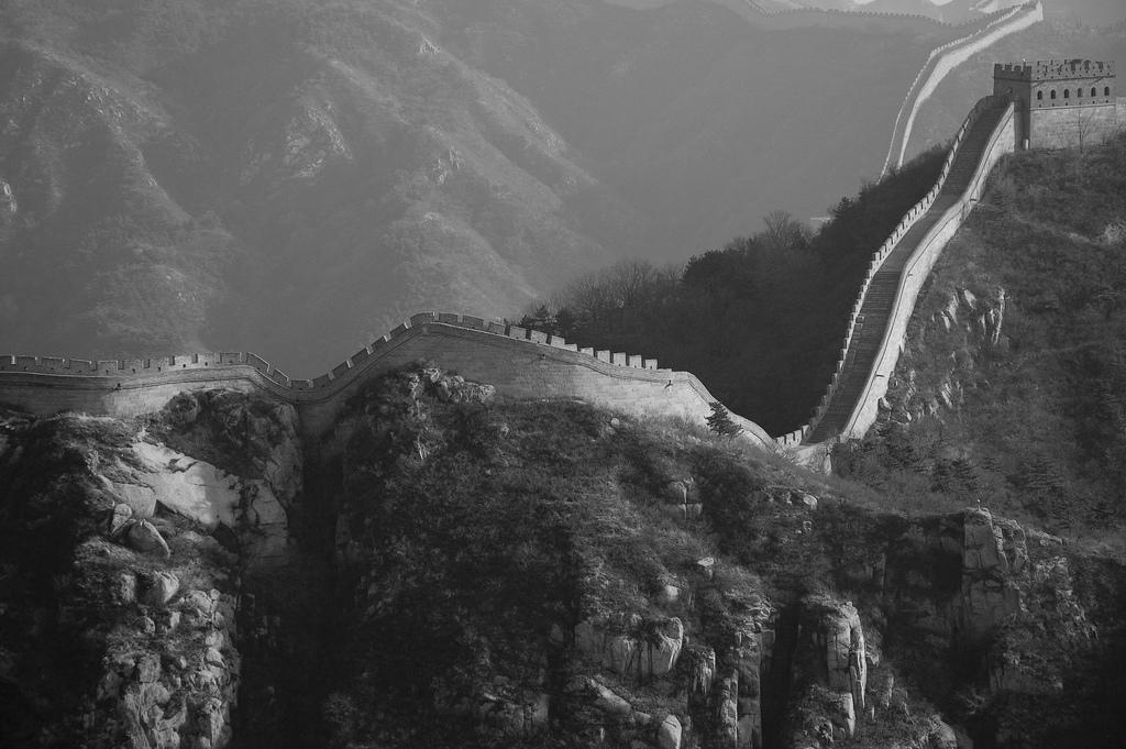 Старые фотографии китайской стены