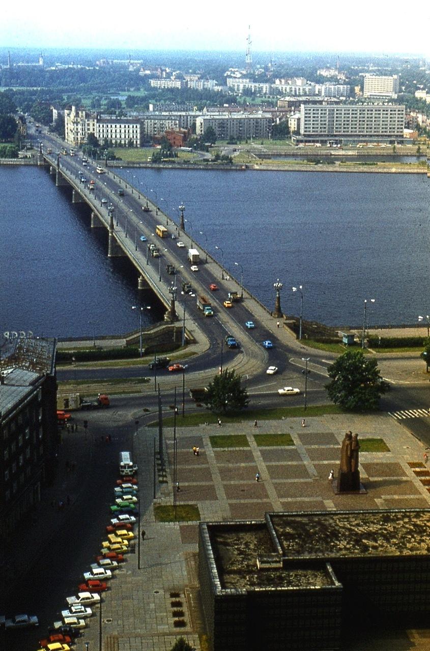 Рига, Юрмала, Сигулда. 1983 год.
