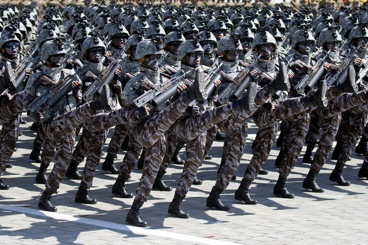 Північнокорейський спецназ.